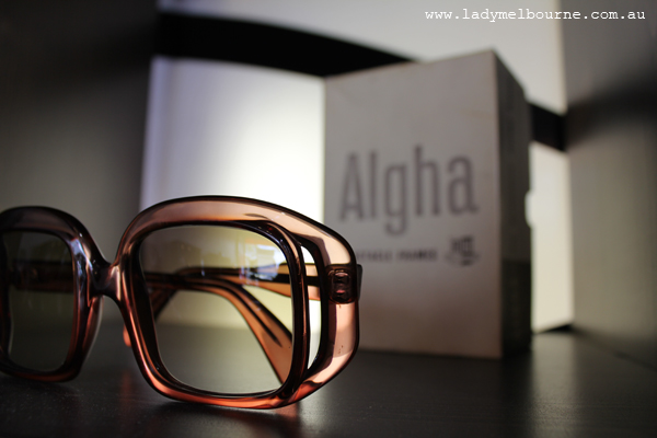 Glasses Frame Repair Melbourne : CHE EyewearLady Melbourne Fashion week, shopping and ...