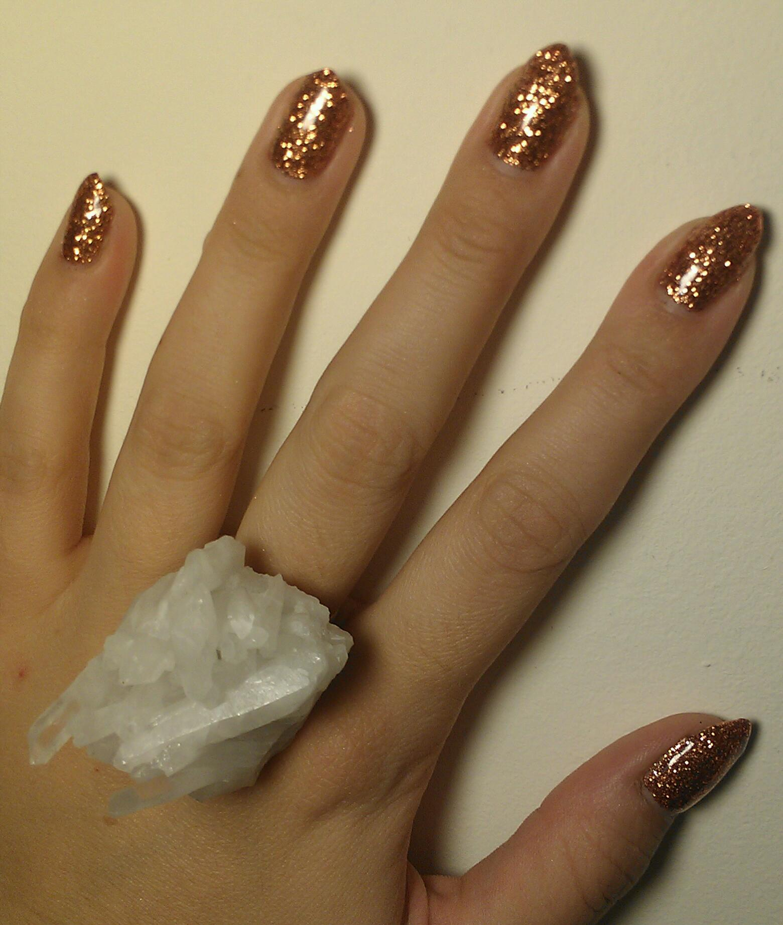 New \'Rockstar\' Nails for LMFF