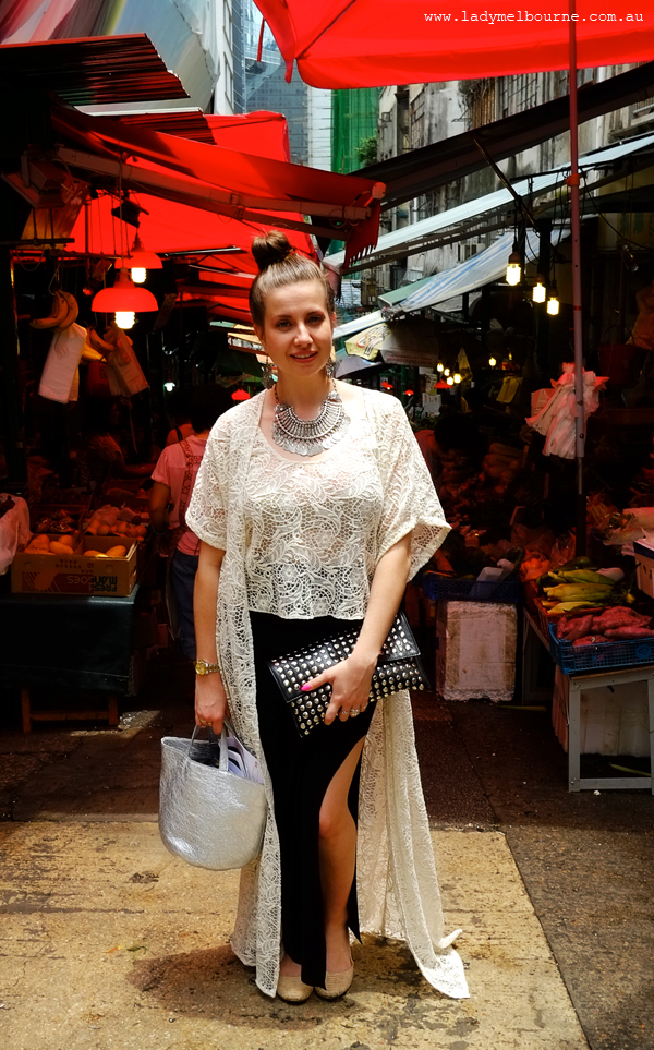 Lady Melbourne in Hong Kong