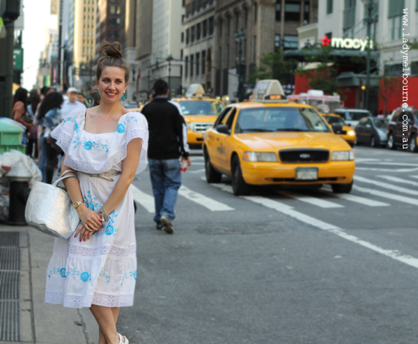 Lady Melbourne in New York