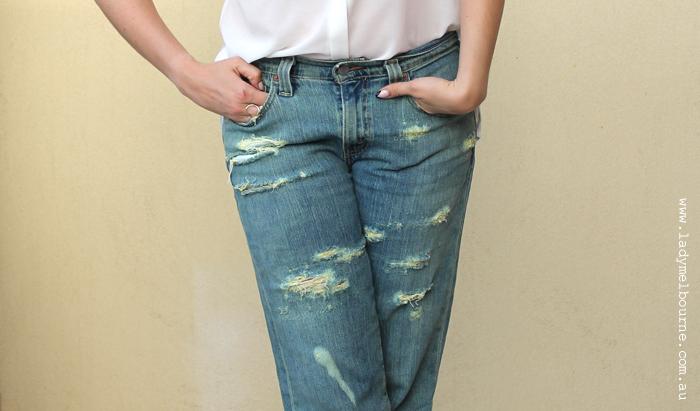 The DIY Boyfriend Jeans