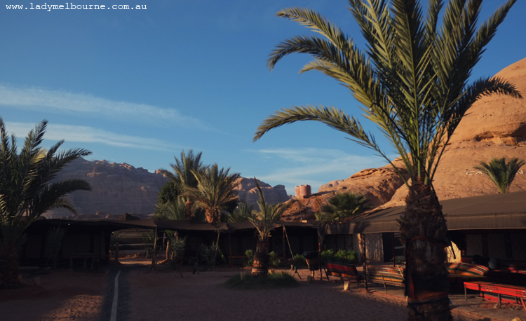 Captain's Camp, Wadi Rum, Jordan