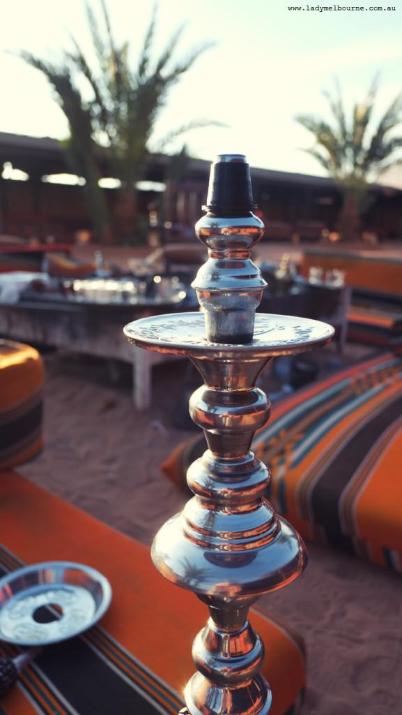 Hookah at Wadi Rum, Jordan