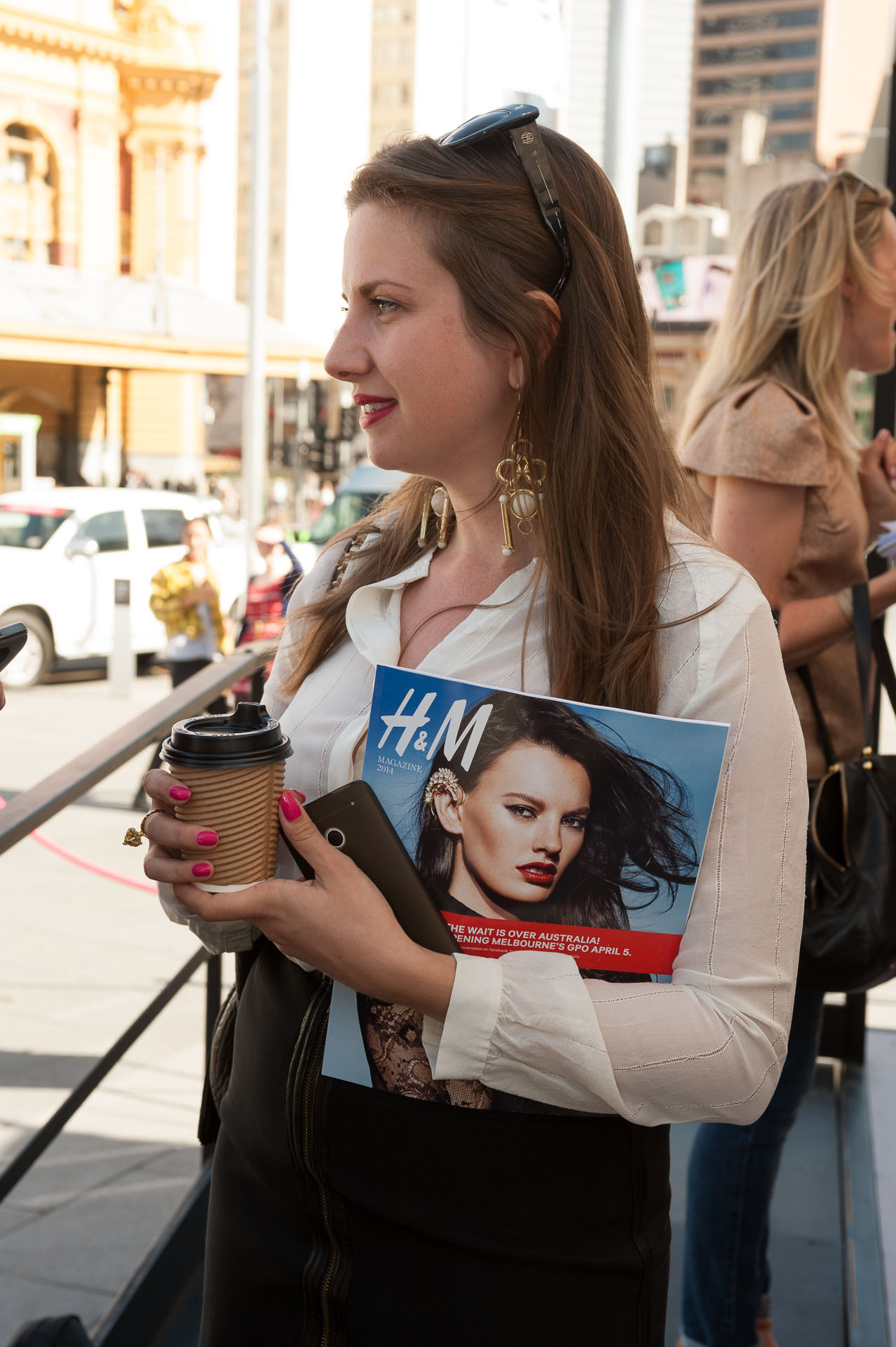 Vogue launches H&M in Melbourne 2014