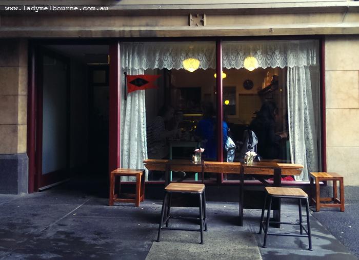 Little King Cafe in Melbourne