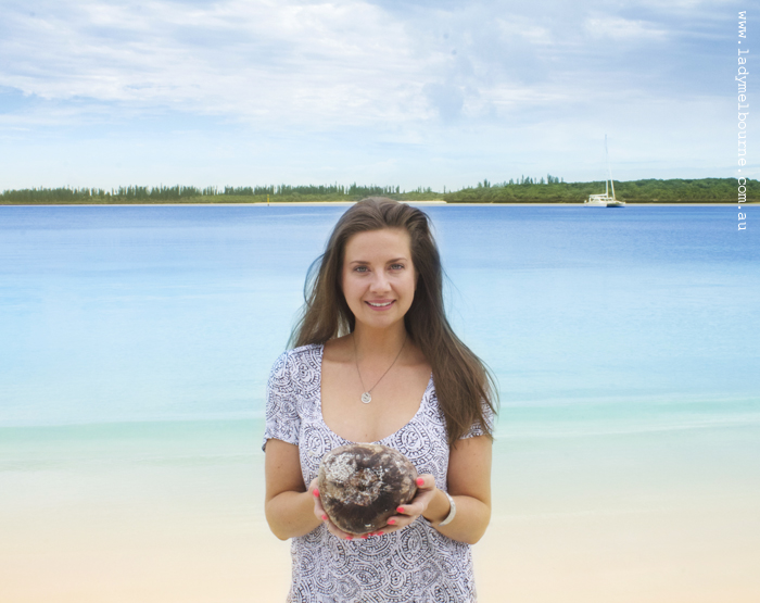 Lady Melbourne discovers New Caledonia