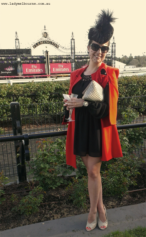 Lady Melbourne at Flemington Race Course