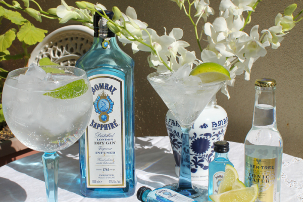 Lady Melbourne makes the ultimate gin and tonic with Bombay Sapphire Gin