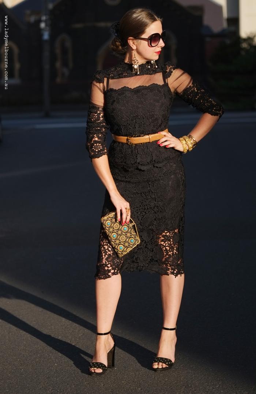 black lace  simple but seductive