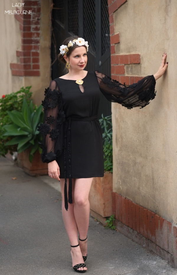Lady Melbourne wearing Dolce & Gabbana inspired outfit