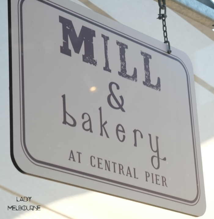 Mill & Bakery at Central Pier, Docklands in Melbourne