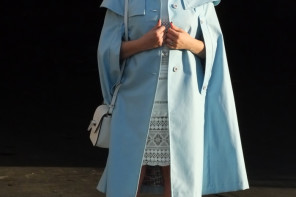 The Blue Cape/Coat