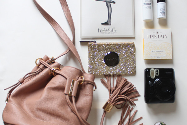 Flat lay of Autumn accessories