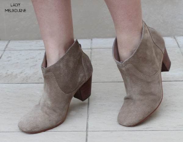 H by Hudson Kiver Boots in 'Beige' | www.ladymelbourne.com.au