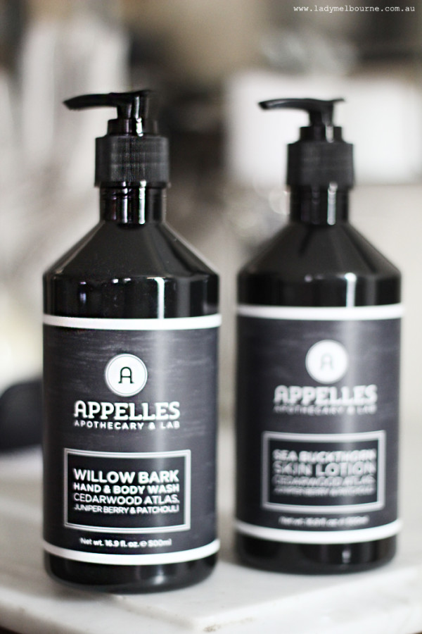 Appelles Body Wash | www.ladymelbourne.com.au