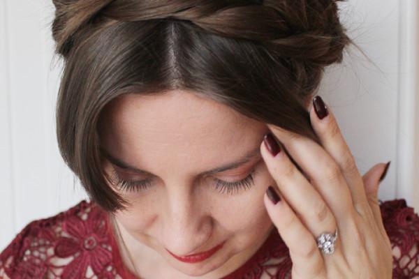 Easy DIY crown braid tutorial   www.ladymelbourne.com.au