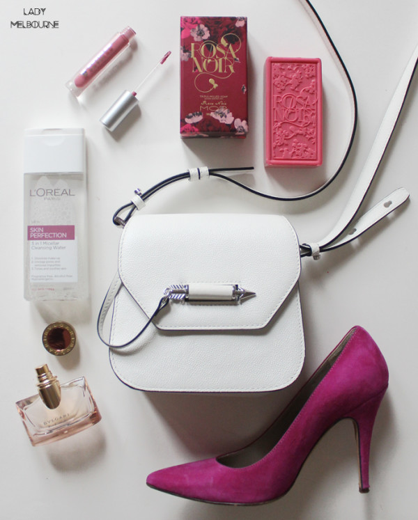 Rose coloured flatlay | www.ladymelbourne.com.au