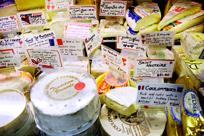 French cheese at the Queen Victoria Market | www.ladymelbourne.com.au