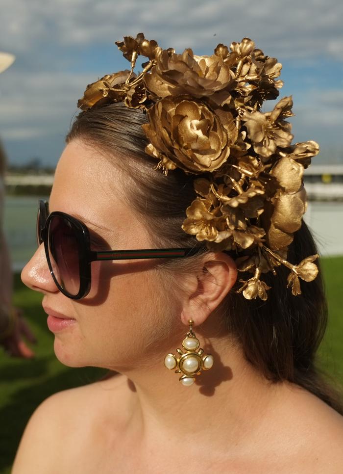 Diy Gold Flower Crown For Under 20