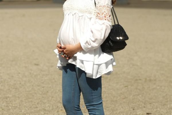 Chicwish white, lace, boho blouse | www.ladymelbourne.com.au