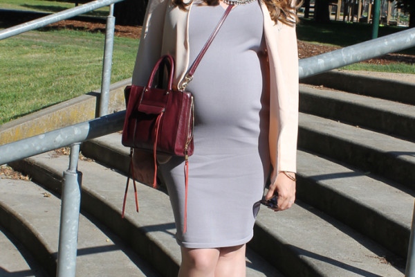Chic maternity outfit as seen on Lady Melbourne | www.ladymelbourne.com.au