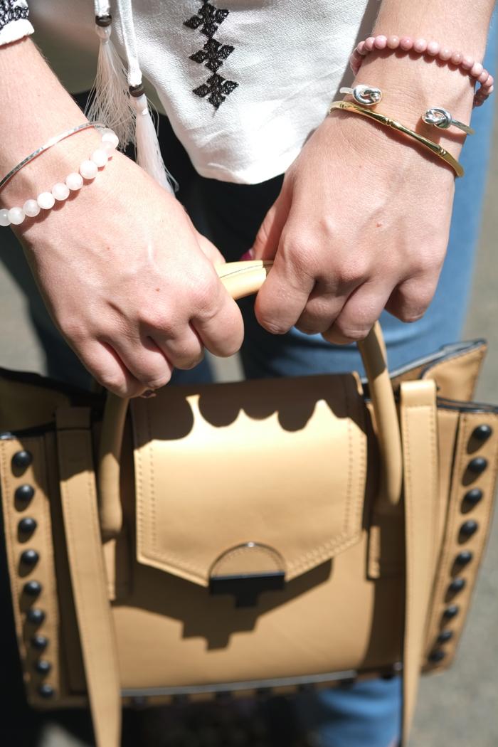 Lady Melbourne holding her Loeffler Randal bag from Shopbop.com | www.ladymelbourne.com.au
