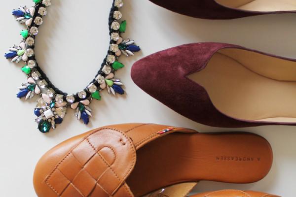 Flat shoes as seen on www.ladymelbourne.com.au