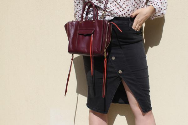 Lady Melbourne wearing McGuire Denim skirt | www.ladymelbourne.com.au