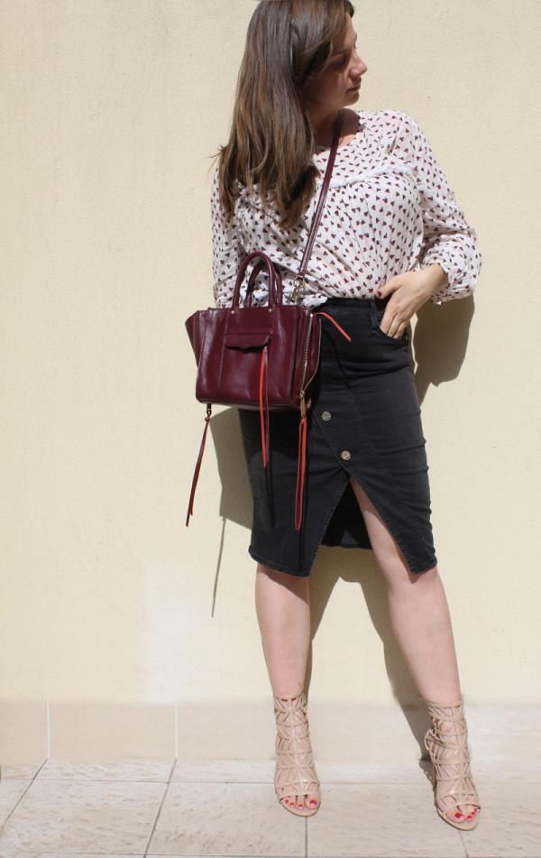 Lady Melbourne wearing McGuire Denim skirt | www.ladymelbourne.com.au
