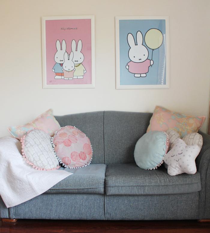 DIY Miffy prints, more on | www.ladymelbourne.com.au