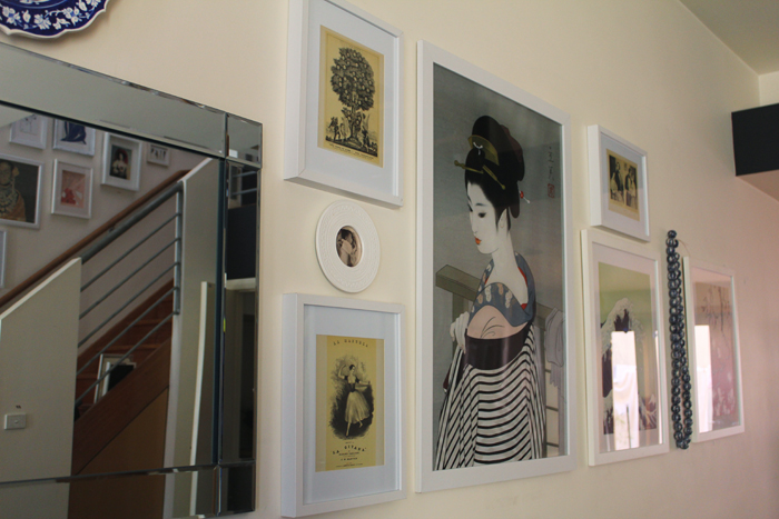 Prints, as seen on Lady Melbourne's picture wall | more on www.ladymelbourne.com.au