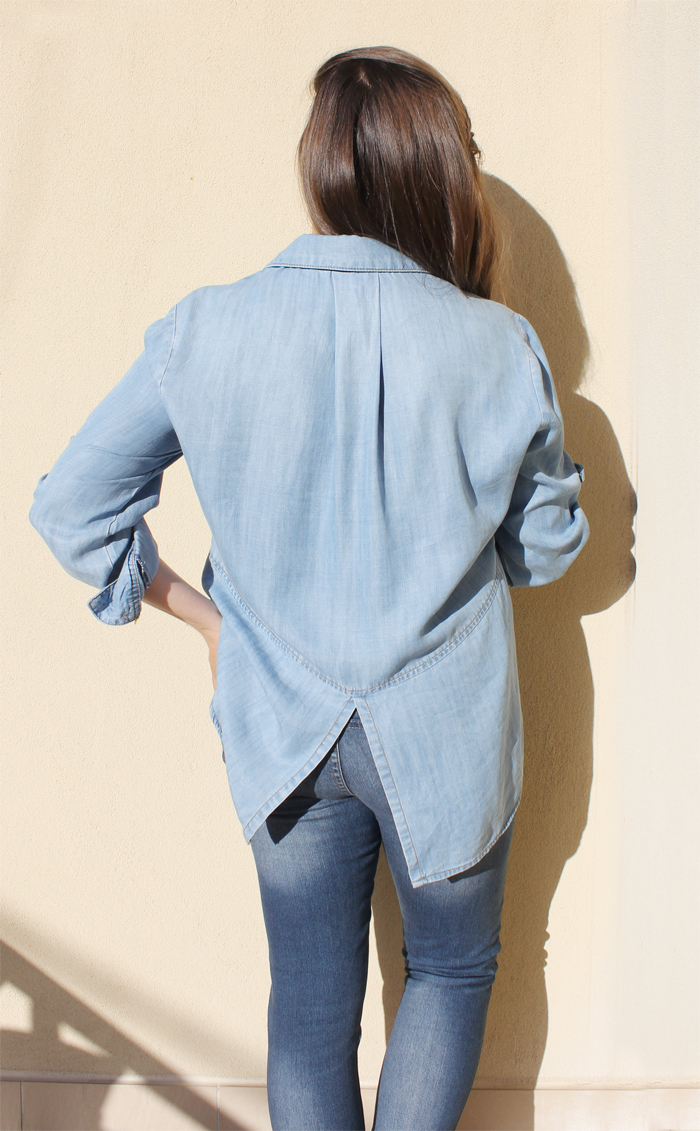 Lady Melbourne in Bella Dahl chambray shirt | more on www.ladymelbourne.com.au