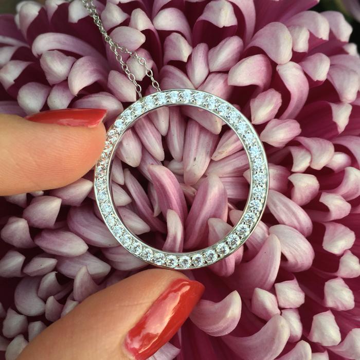 Secrets Shhhh simulated diamond pendent | more on www.ladymelbourne.com.au