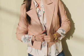 5 Pink Leather Jackets for Winter!