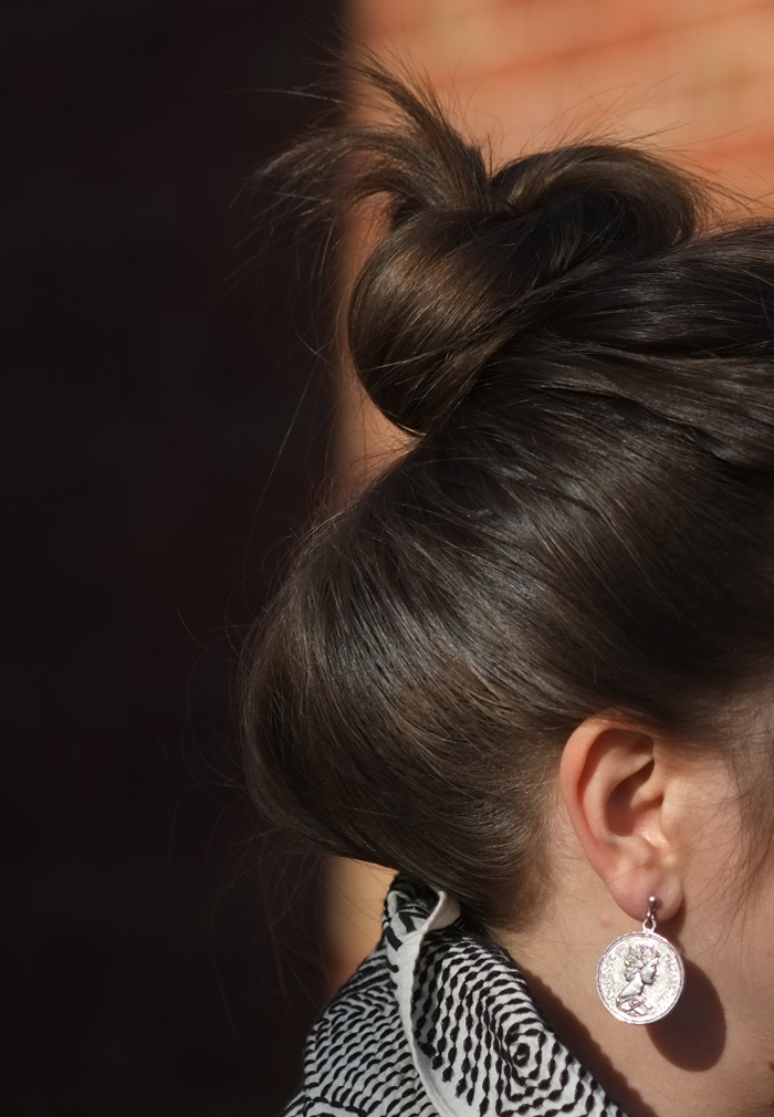 Top knot | more on www.ladymelbourne.com.au