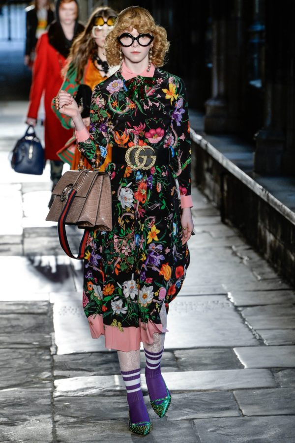 Gucci Resort 2017 Collection shown at Westminster Abbey, June 2016