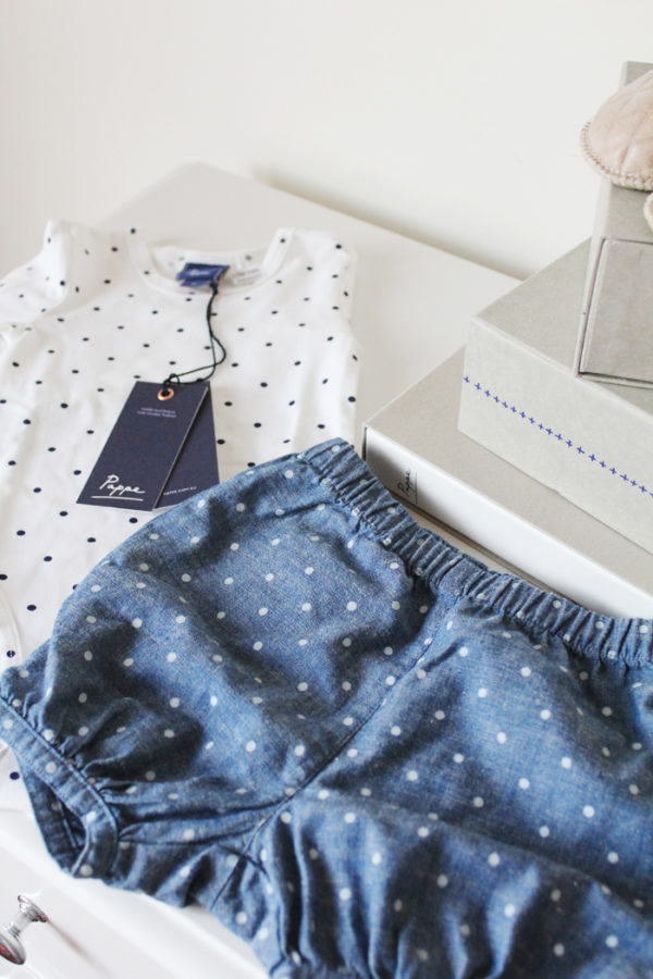 Organic cotton baby clothes from luxury children's label Pappe | more on www.ladymelbourne.com.au