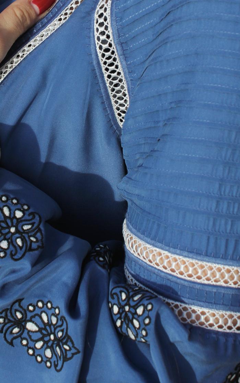 Pintucking on Veronica Beard 'Alpine' blouse | www.ladymelbourne.com.au