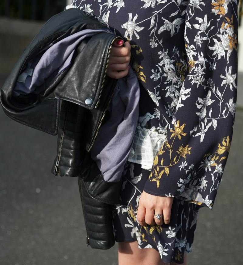 Floral sleeve of Stevie May dress | more on www.ladymelbourne.com.au