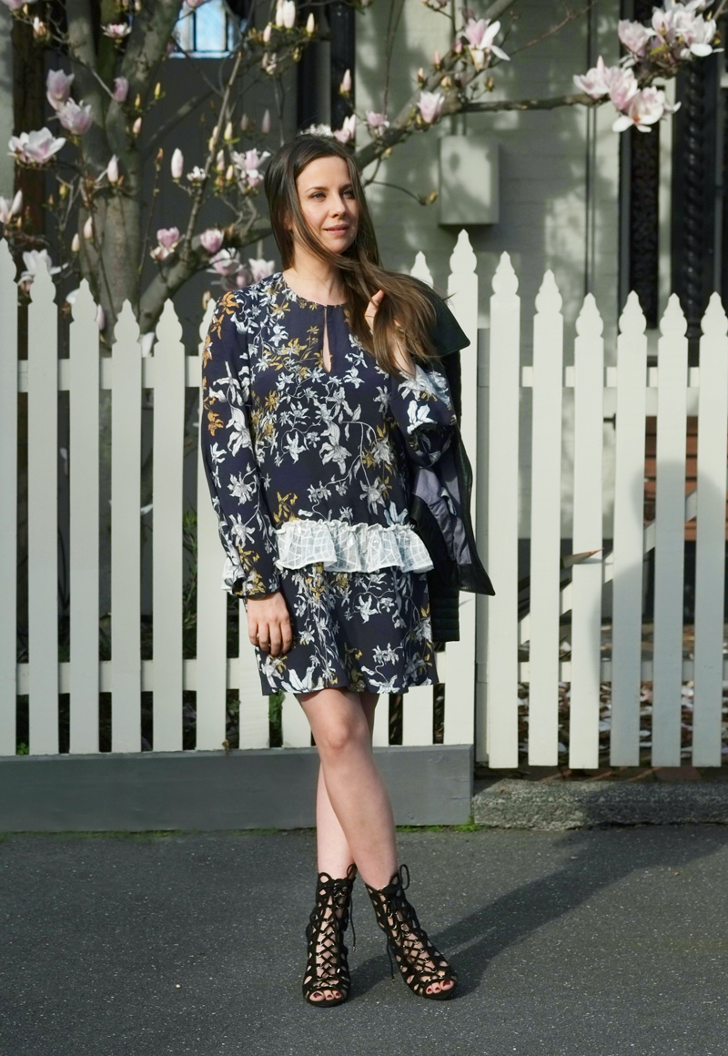 Lady Melbourne wearing Stevie May dress | more on www.ladymelbourne.com.au