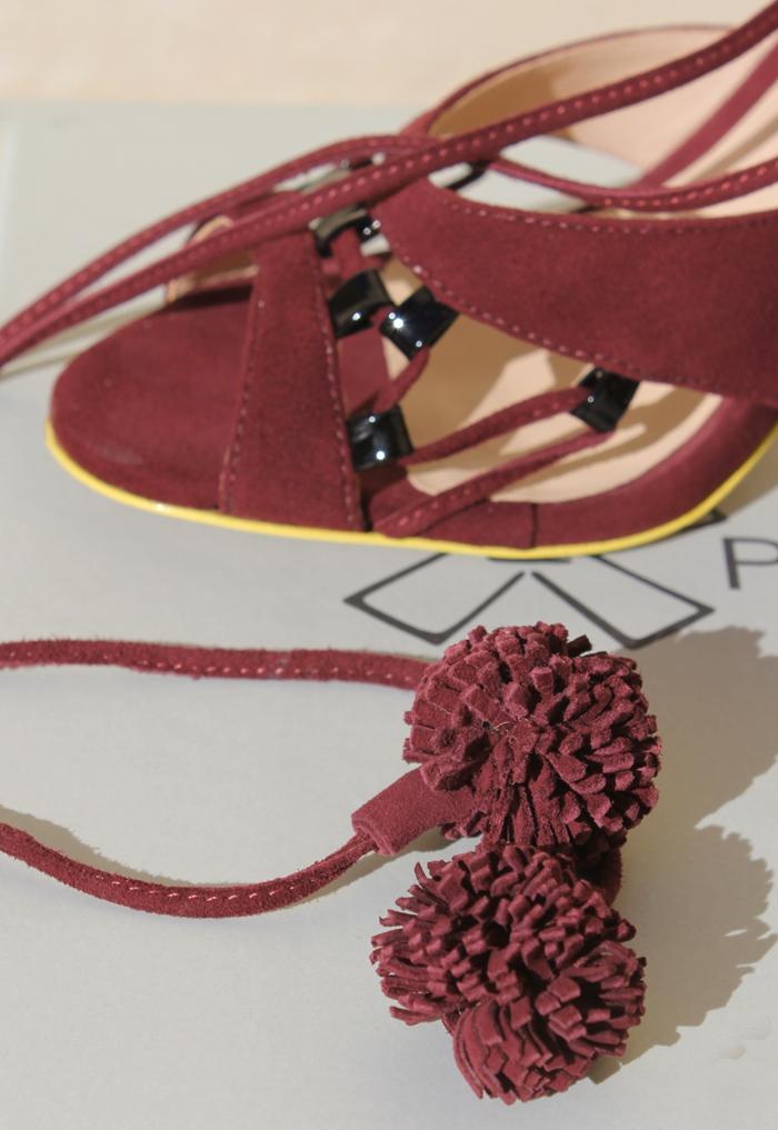 Paola Fabris suede heels | more on www.ladymelbourne.com.au