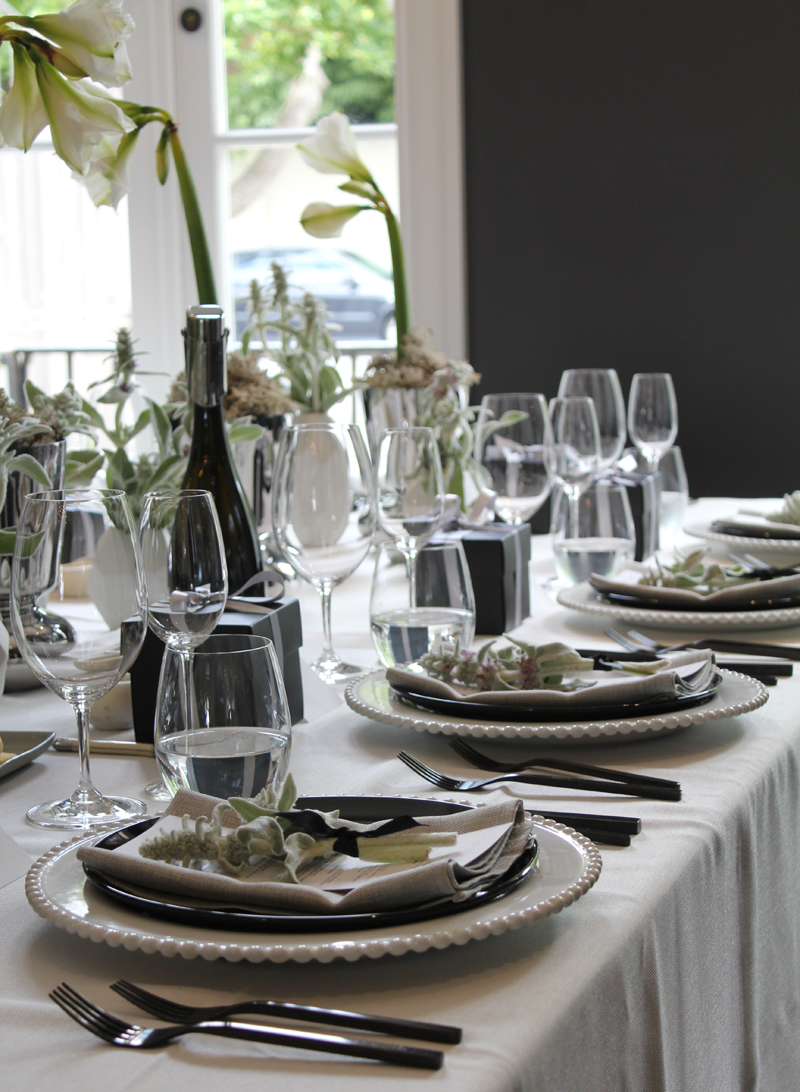 A luncheon to celebrate a collaboration between renowned Danish design house Georg Jensen and Tasmanian wine producer Heemskerk.