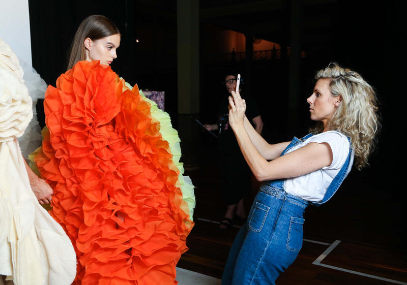 VAMFF 2017 Backstage shots | more on www.ladymelbourne.com.au