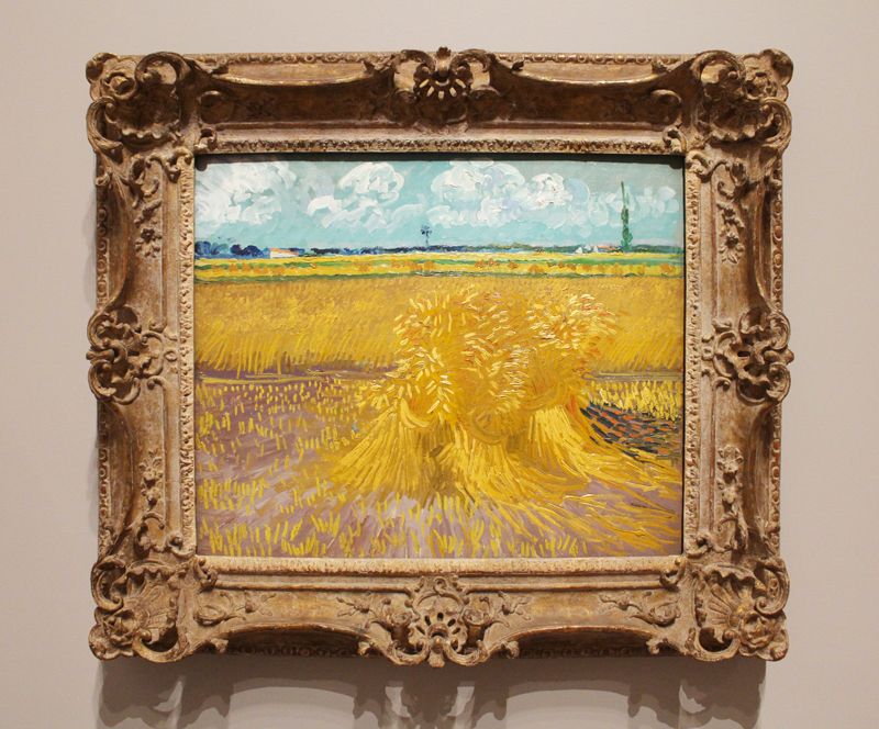 Vincent Van Gogh 'Four Seasons' exhibition at the NGV