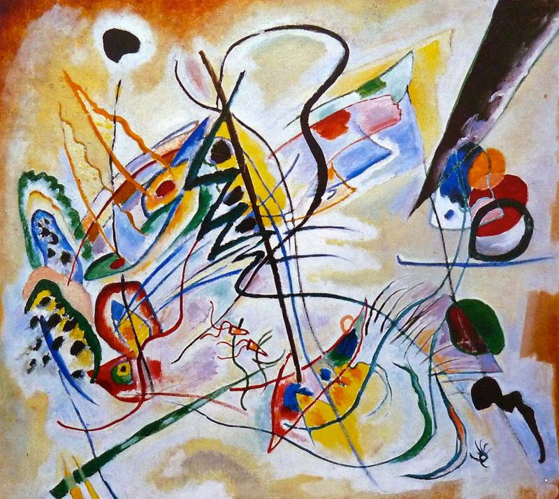 Wassily Kandinsky Violet Wedge 1919