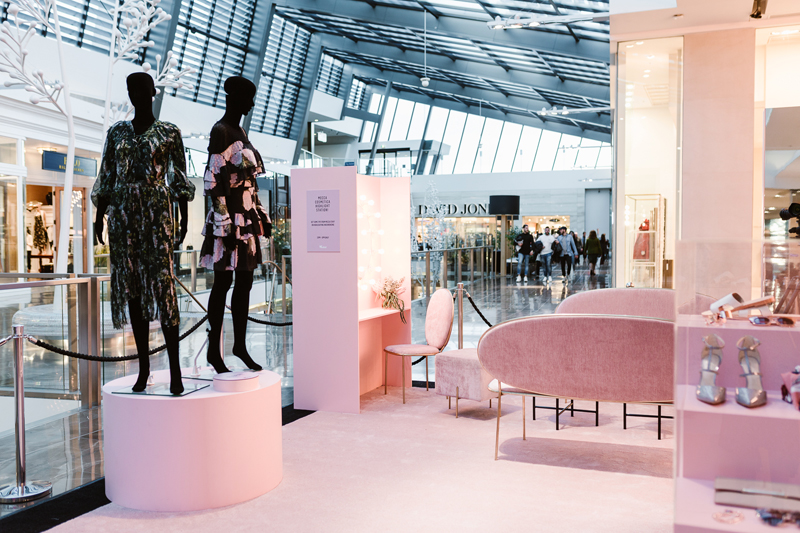 Fashion lounge at Westfield Doncaster, Melbourne