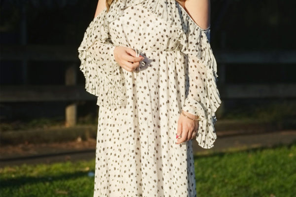 Seed Heritage ruffle dress | more on www.ladymelbourne.com.au