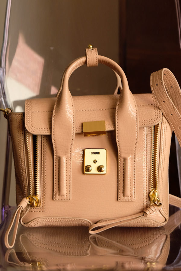 3.1 Phillip Lim Mini Pashli Satchel in ceramic