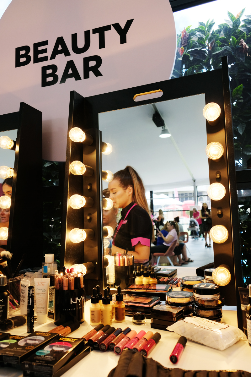 Priceline Beauty Bar at the 2018 Kooyong Classic