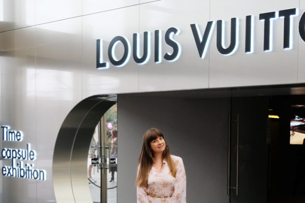 Louis Vuitton Time Capsule Exhibition at Chadstone